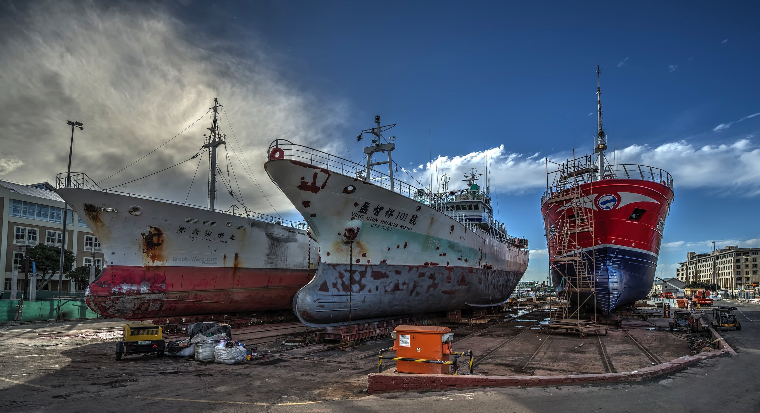 Dry Dock - Cape Town