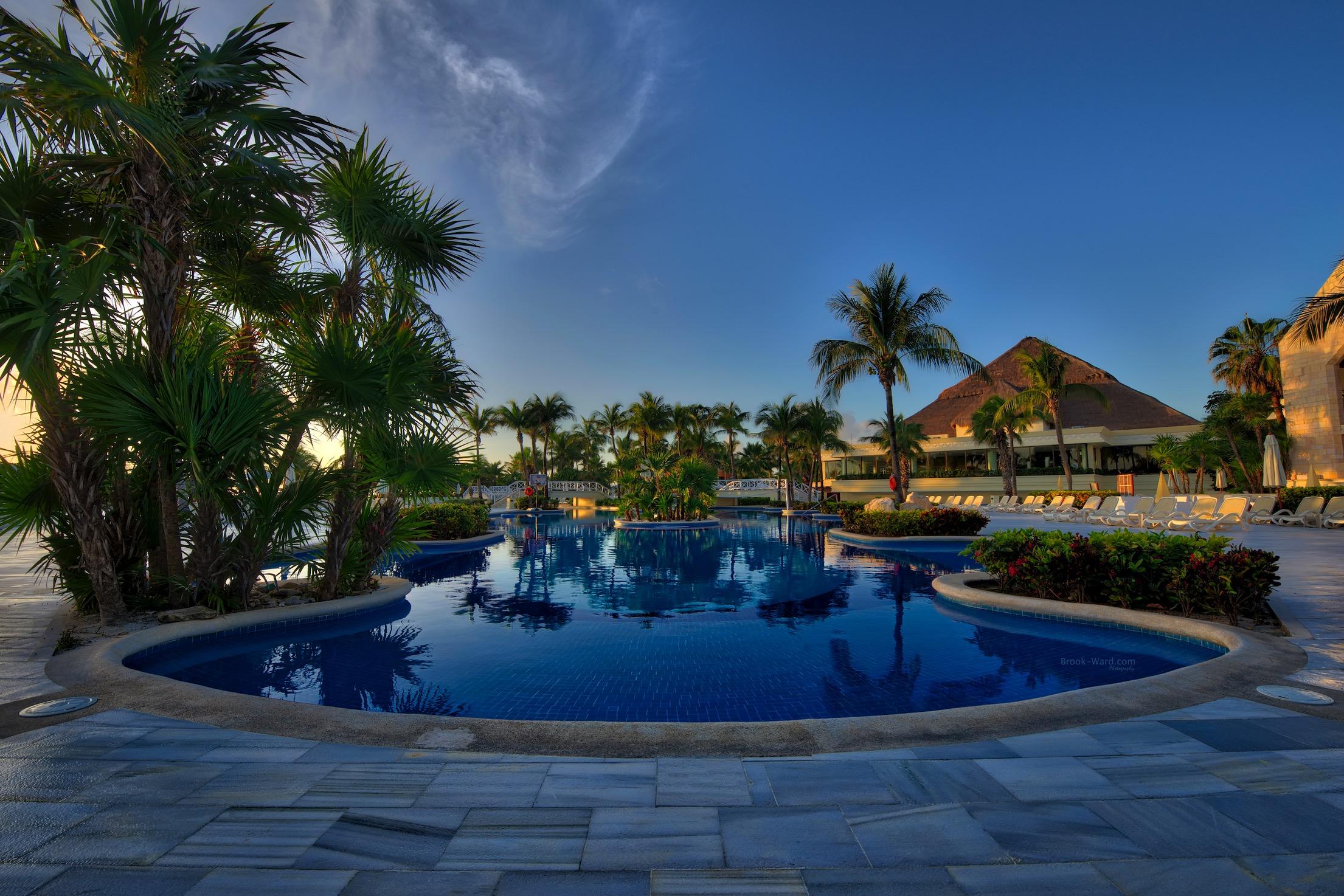 Mexican Resort Pool