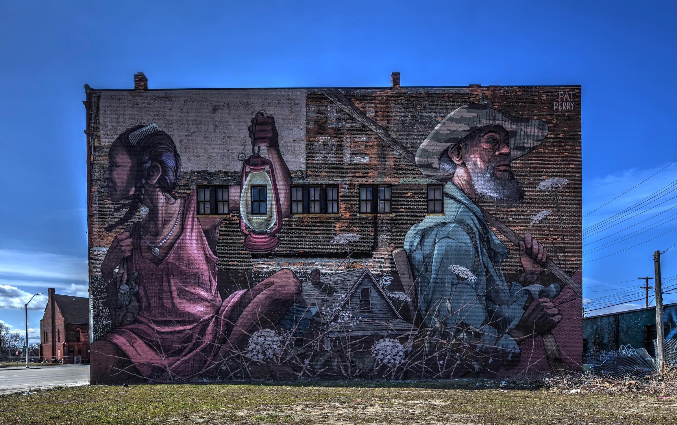 Pat Perry's Mural
