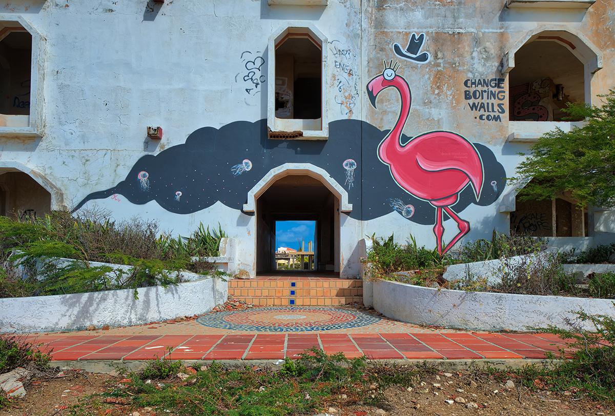Bonaire - Abandoned Hotel