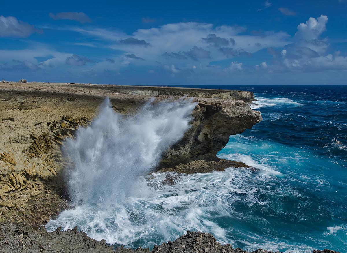 Blow Hole - Bonaire