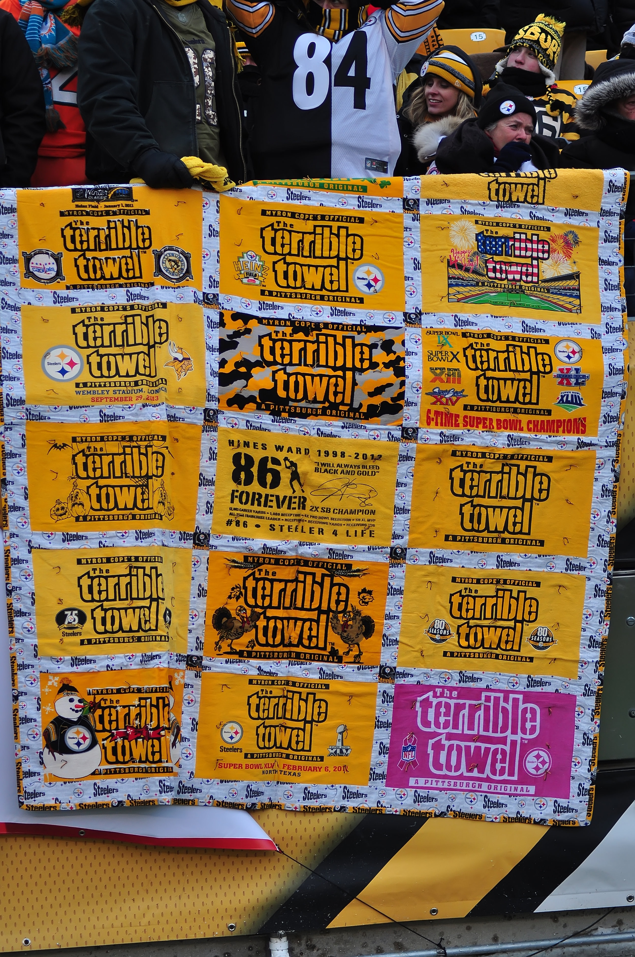 Quilting with Terrible Towels