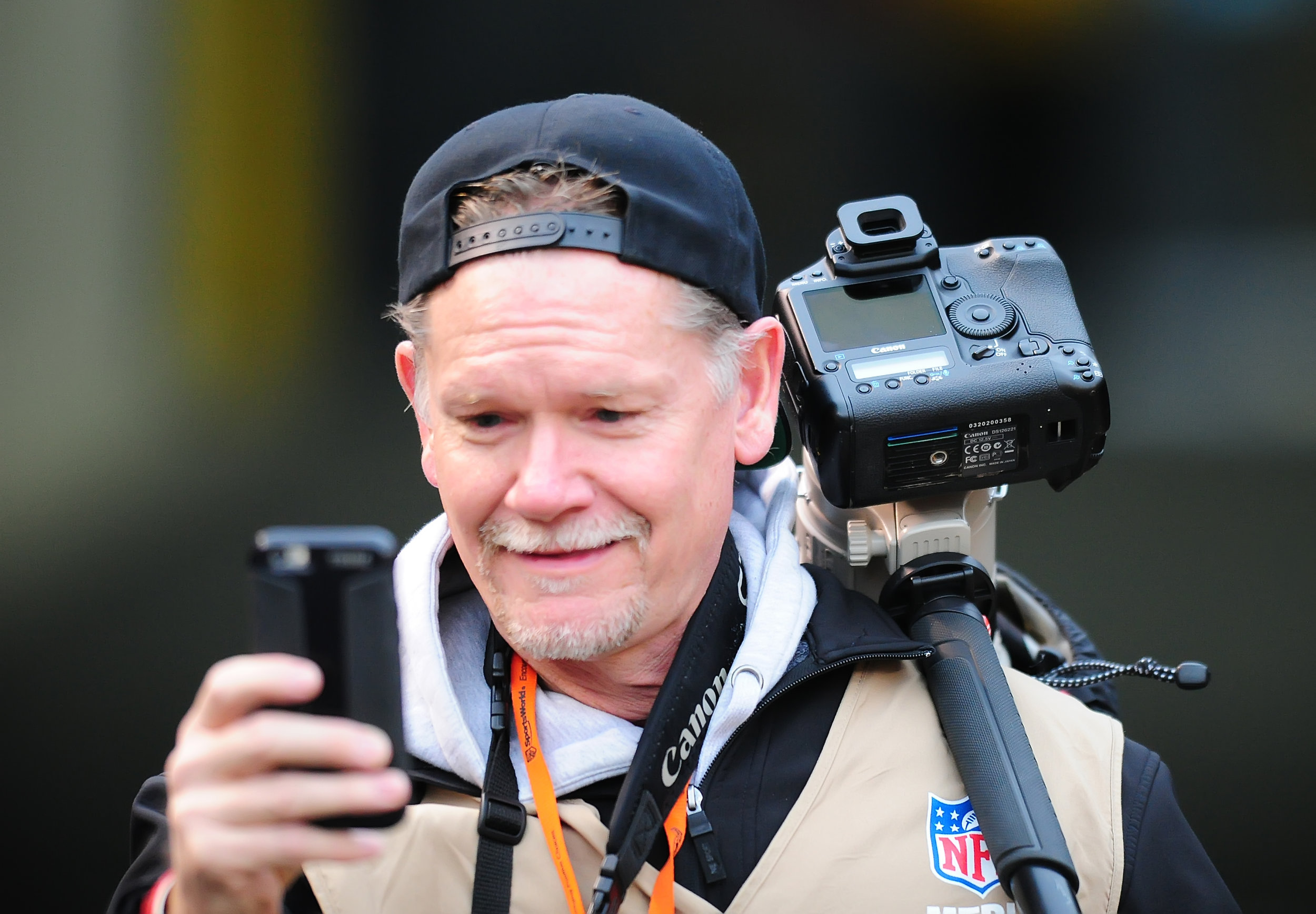 Frank - nicest sports photographer in America