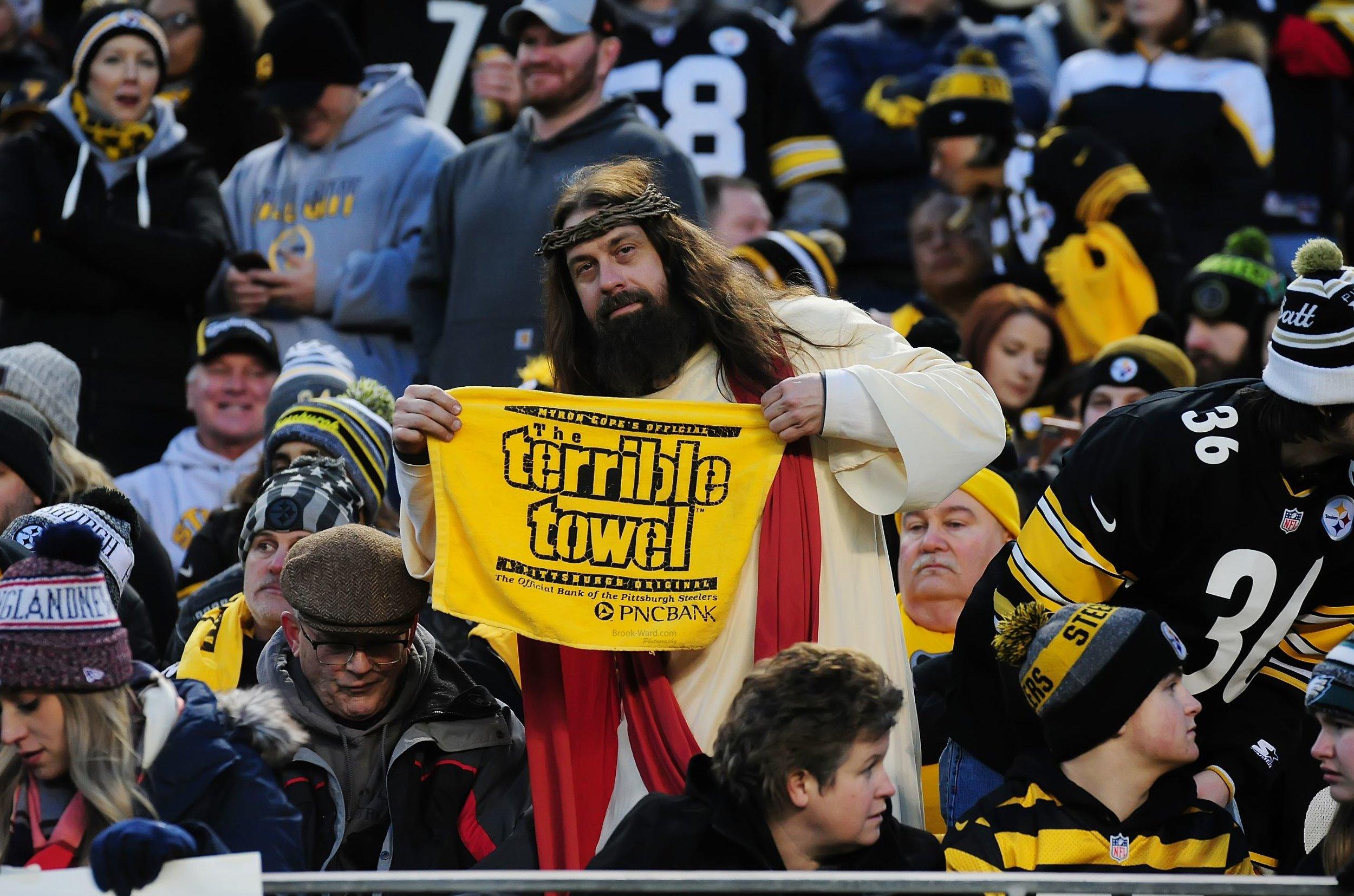 Jesus is a Steelers' fan