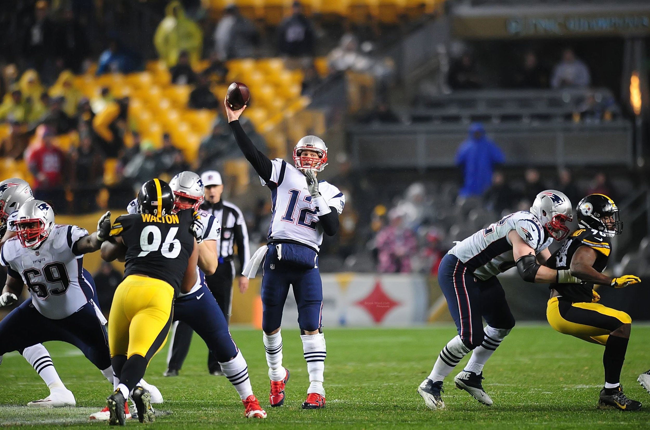 Tom vs. every Steelers' Player