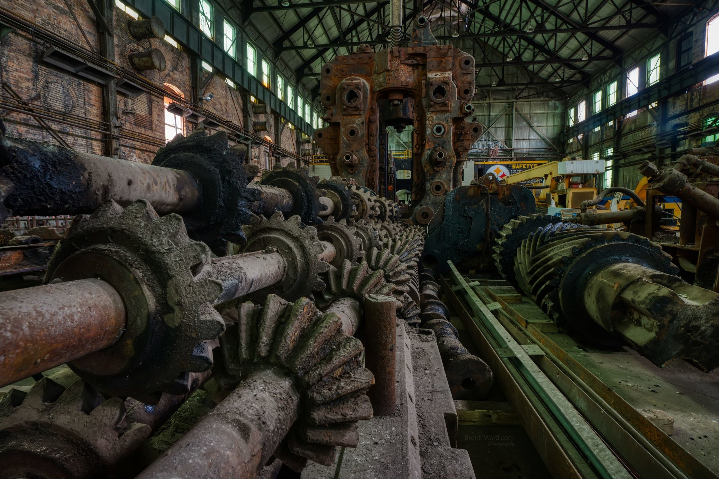Gears at Carrie Furnace
