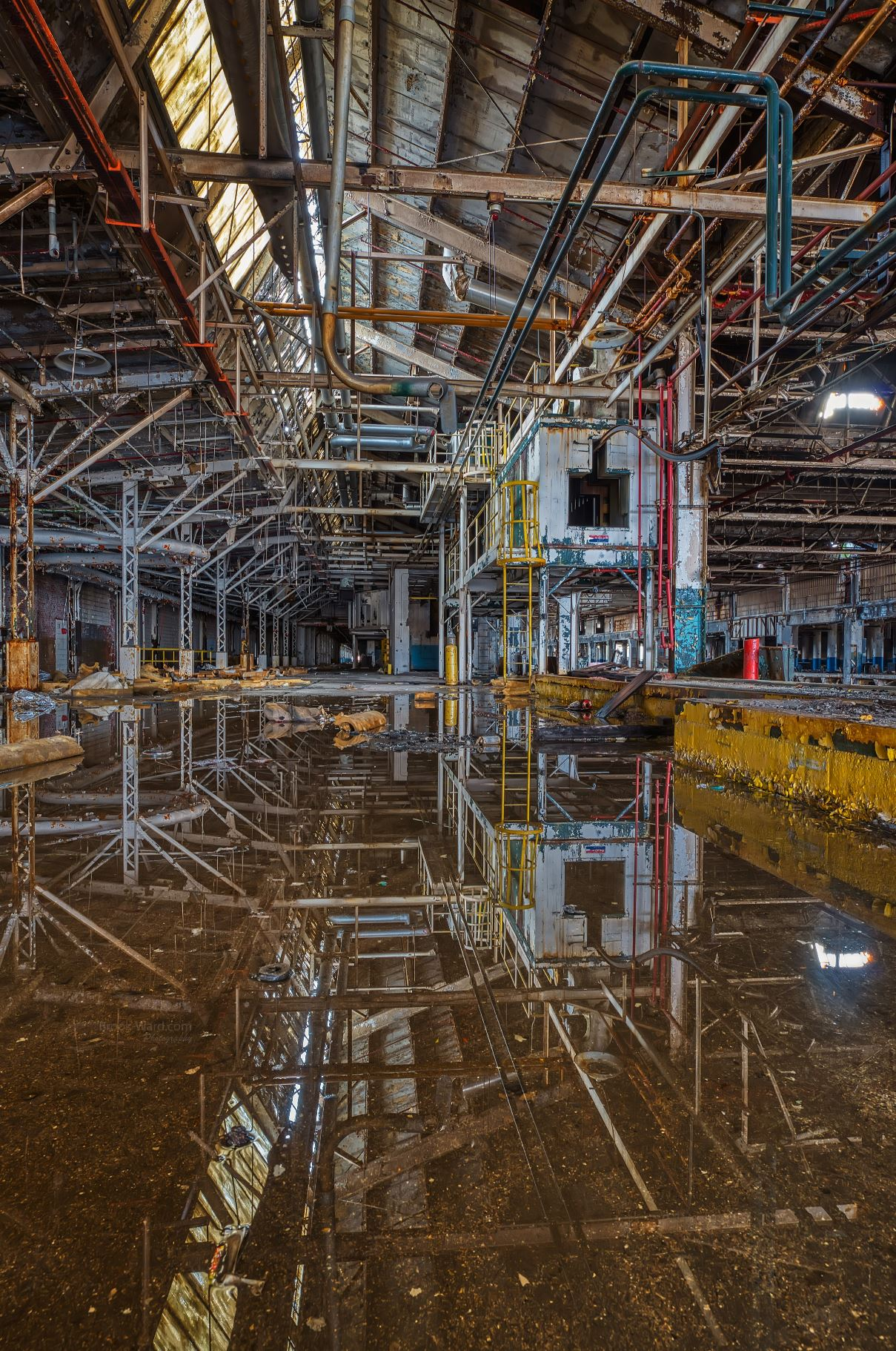 Detroit - Flooded Factory