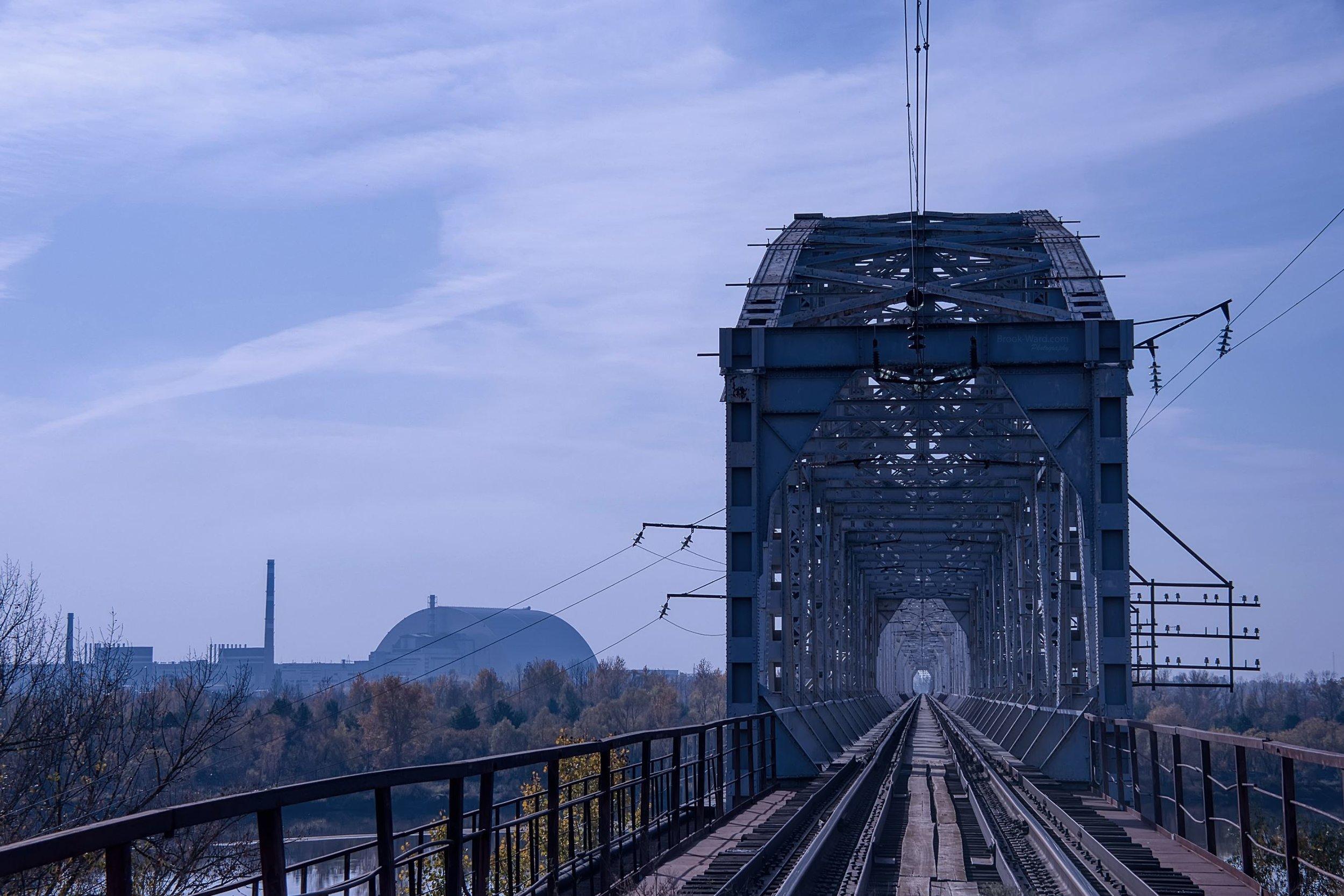 Pripyat Train Bridge