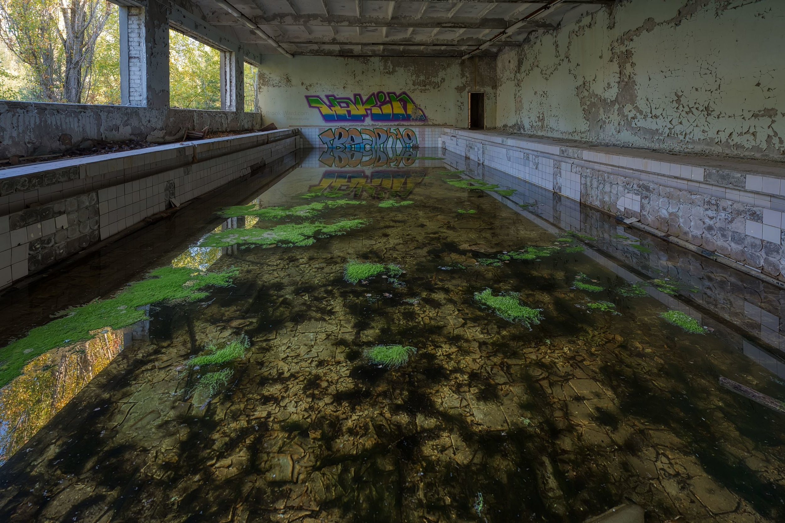 Chernobyl Cultural Center Pool