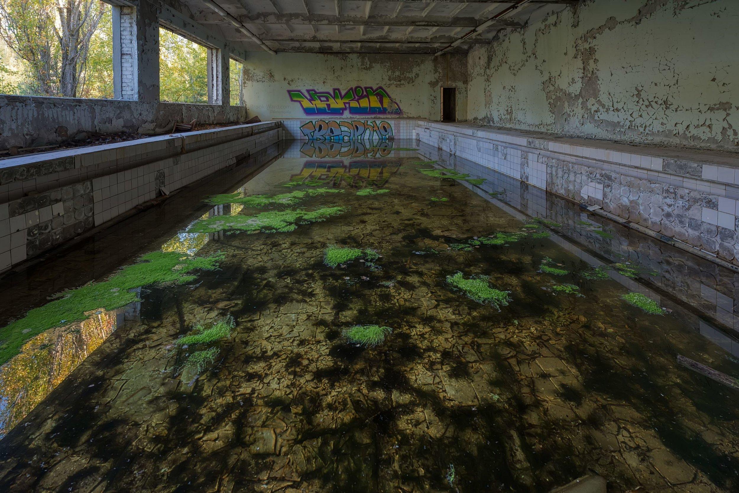 Chernobyl Cultural Center Pool