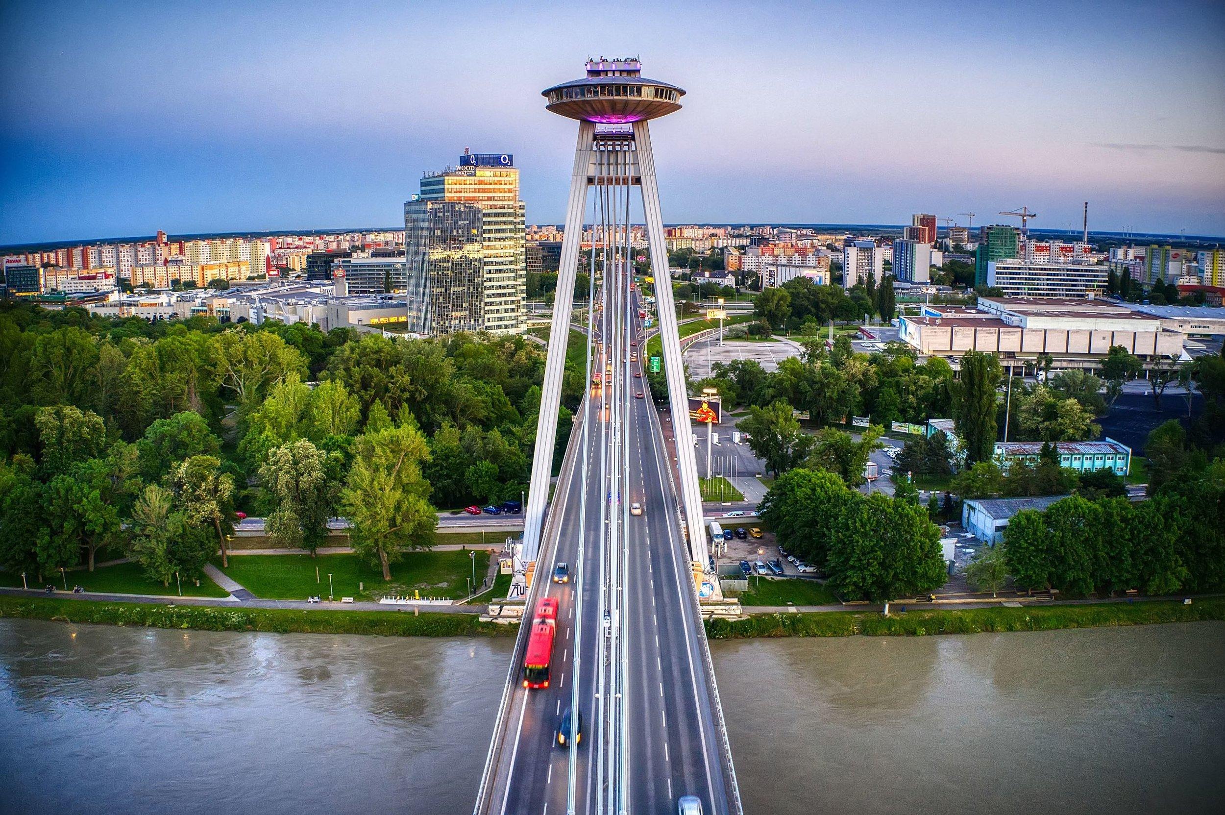 UFO Observation Deck - Bratislava
