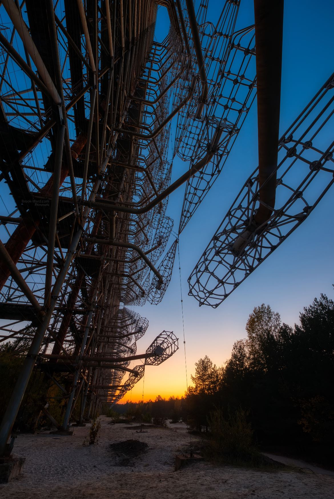 DUGA - Russian Woodpecker