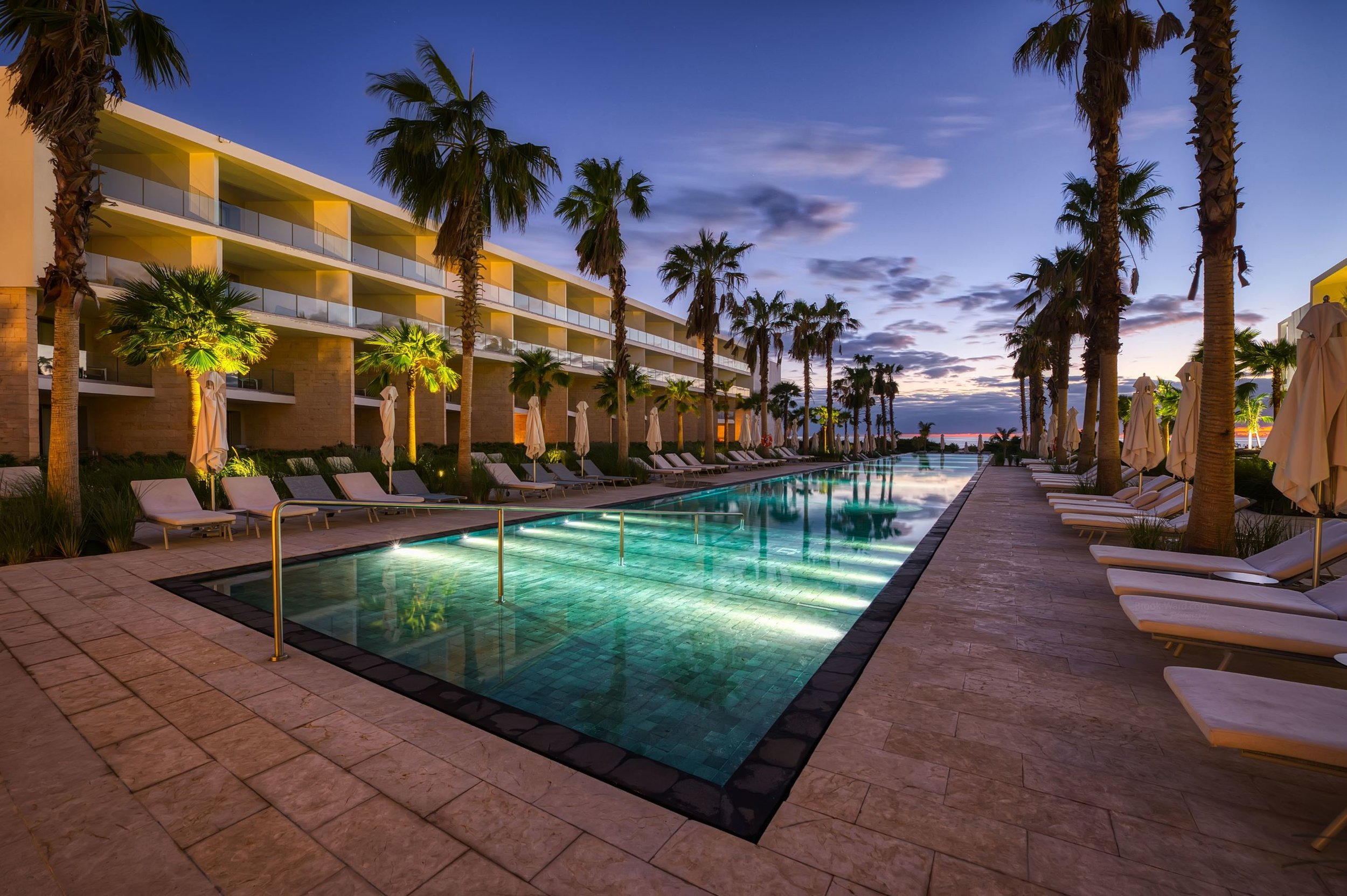 Cancun Colorful Pool