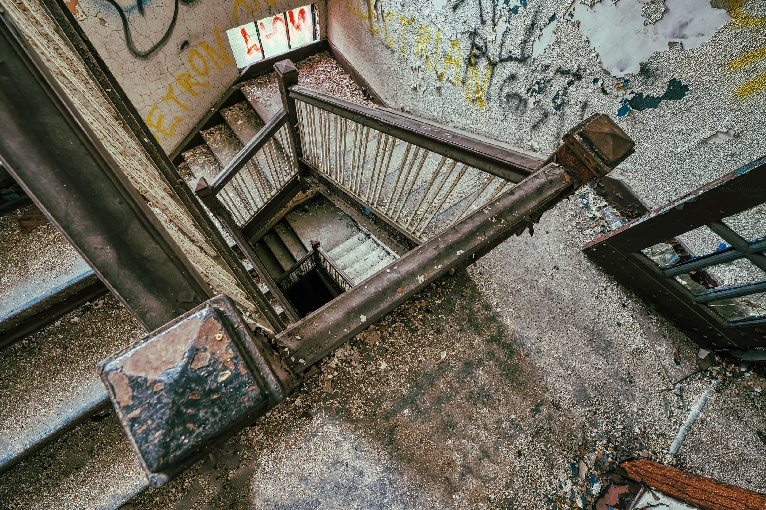 Pittsburgh Area Grungy Stairs