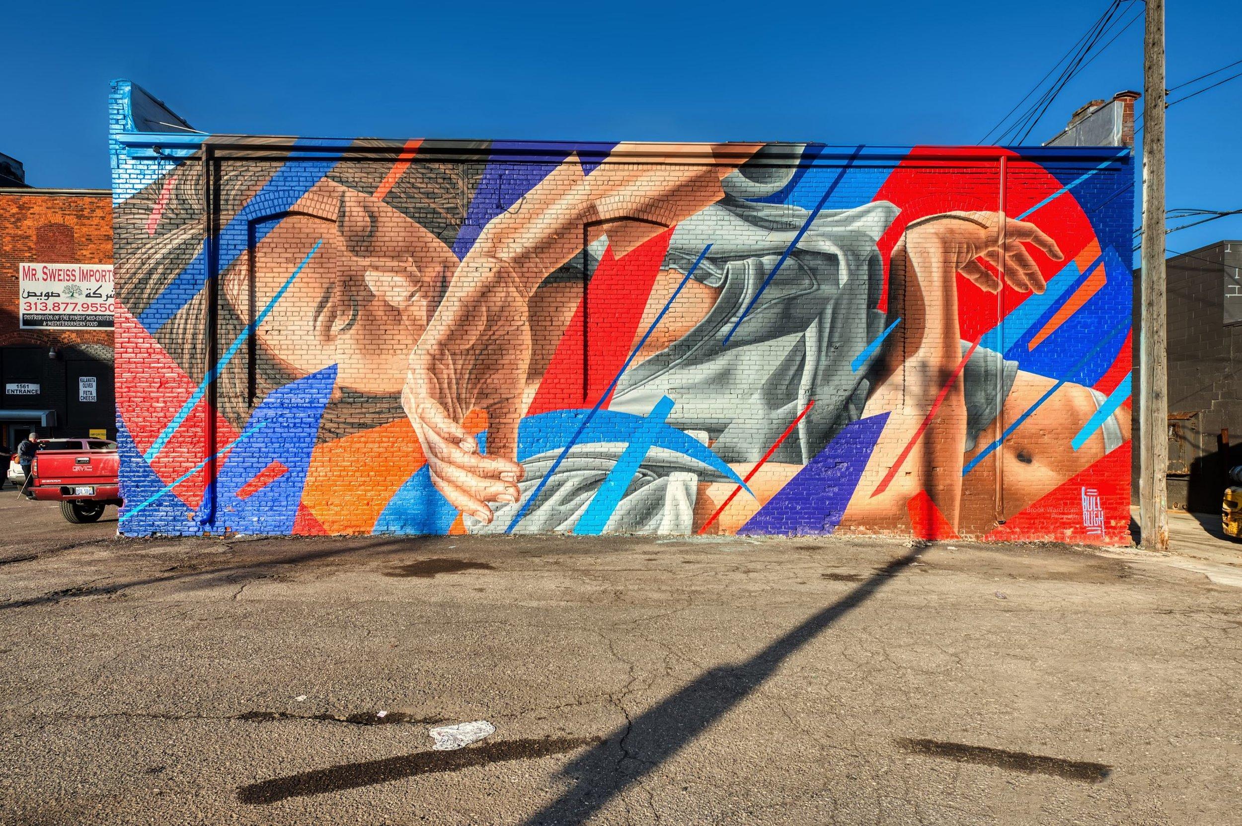 Bullough Mural - Eastern Market
