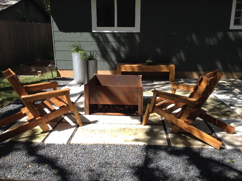"""Is it time to install a new patio? We have great options if you are going for a """"rustic Hill Country feel"""" or a modern patio."""