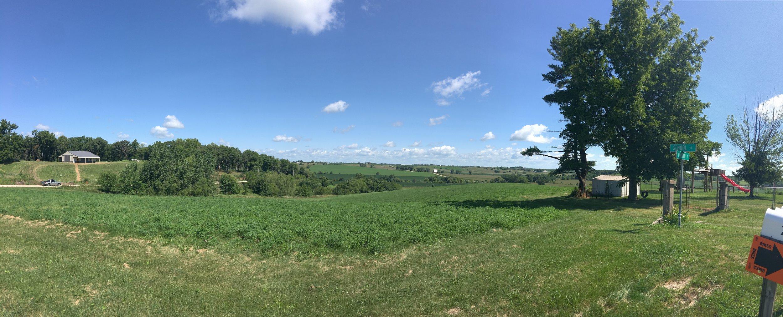 Panorama of views in Deep River
