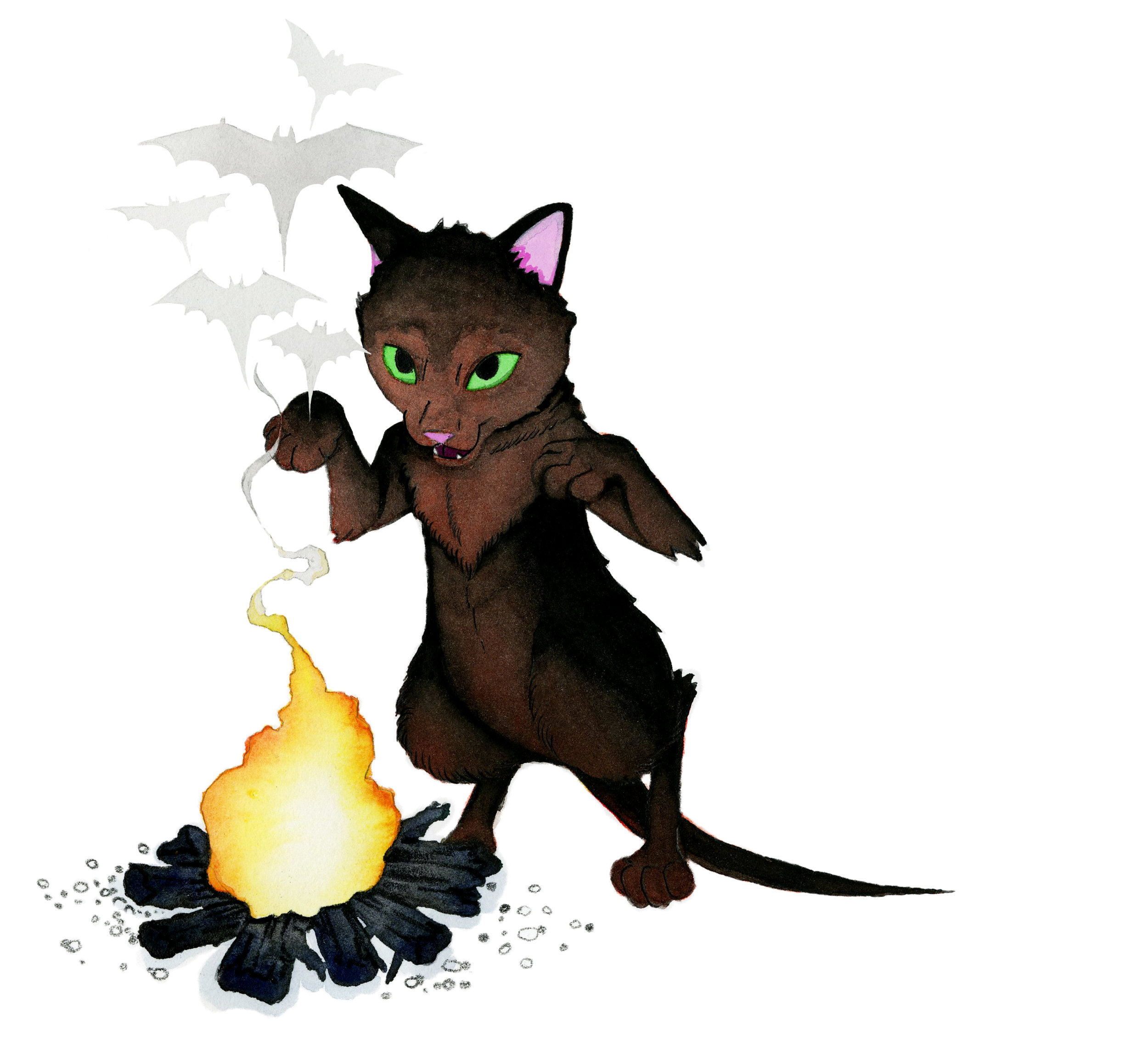 Kitty Conjuring