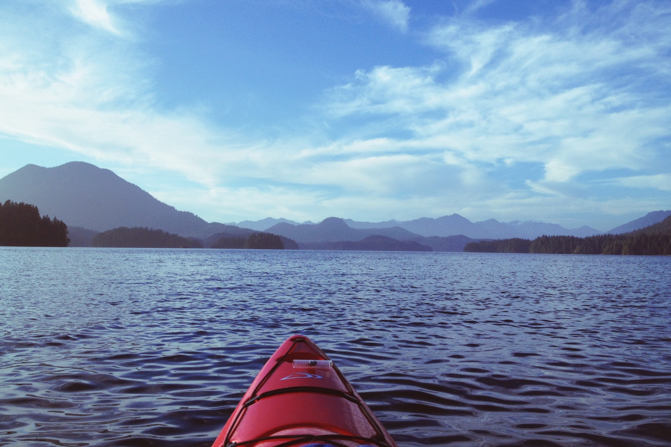 Kayaking Clayoquot Sound