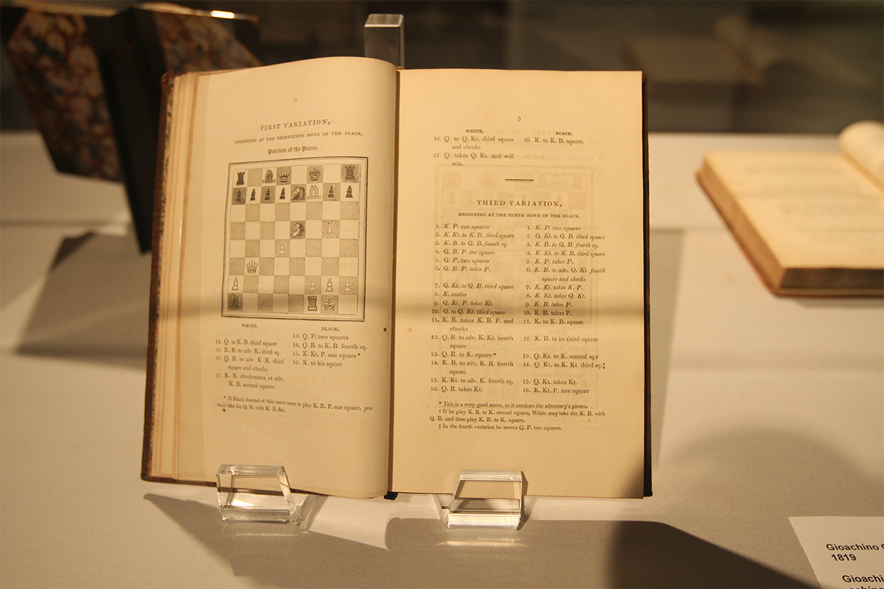 Book by chess icon Paul Morphy at World Chess Hall of Fame.