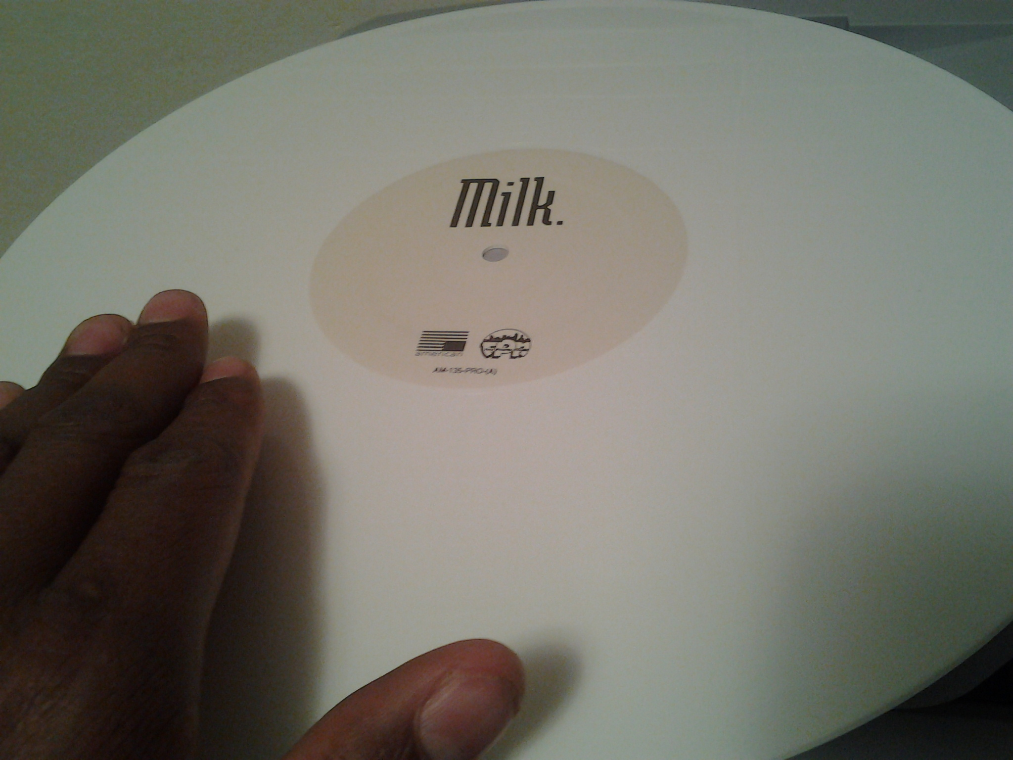 WHITE vinyl...so precious....my precious....
