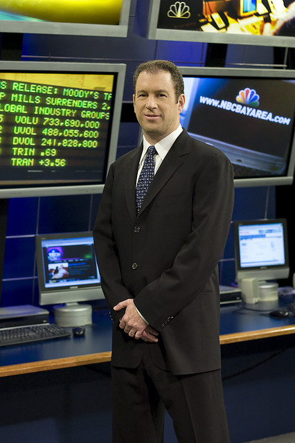 NBC 11's Silicon Valley News Anchor, Scott Budman