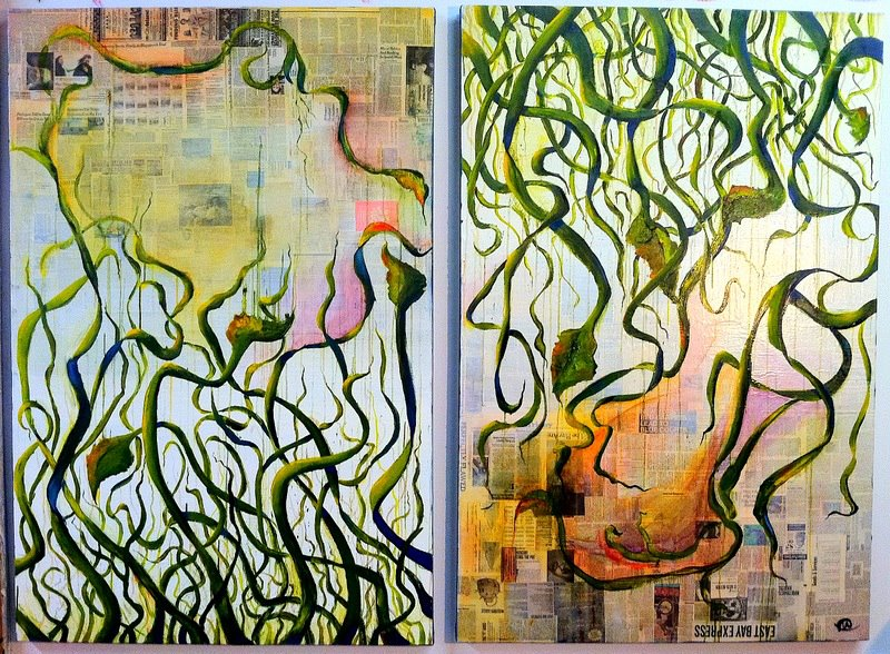 Vines,  commissioned