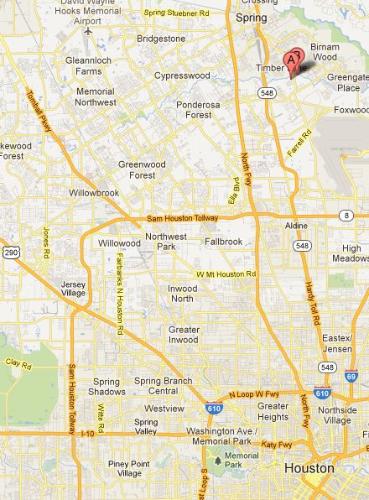 Mercer Arboretum and Botanic Garden - still half way to Dallas.
