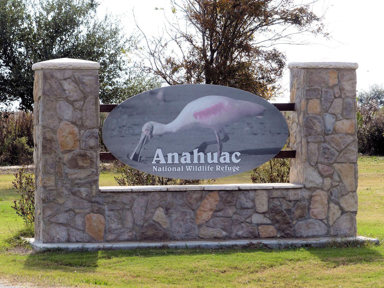 Main entrance to Anahuac