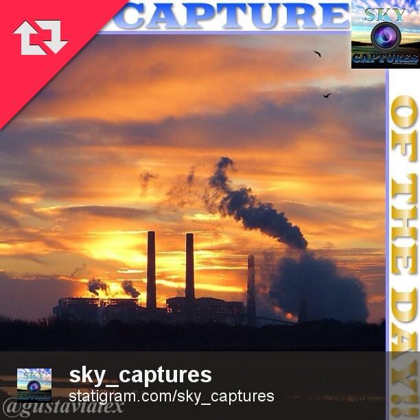 Sunrise over LP Energy plant