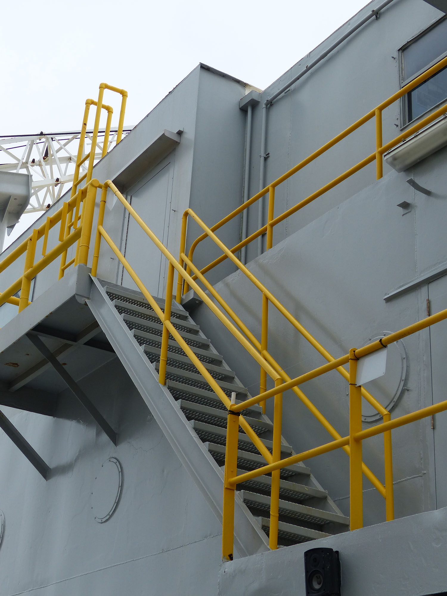 Ladders and handrails