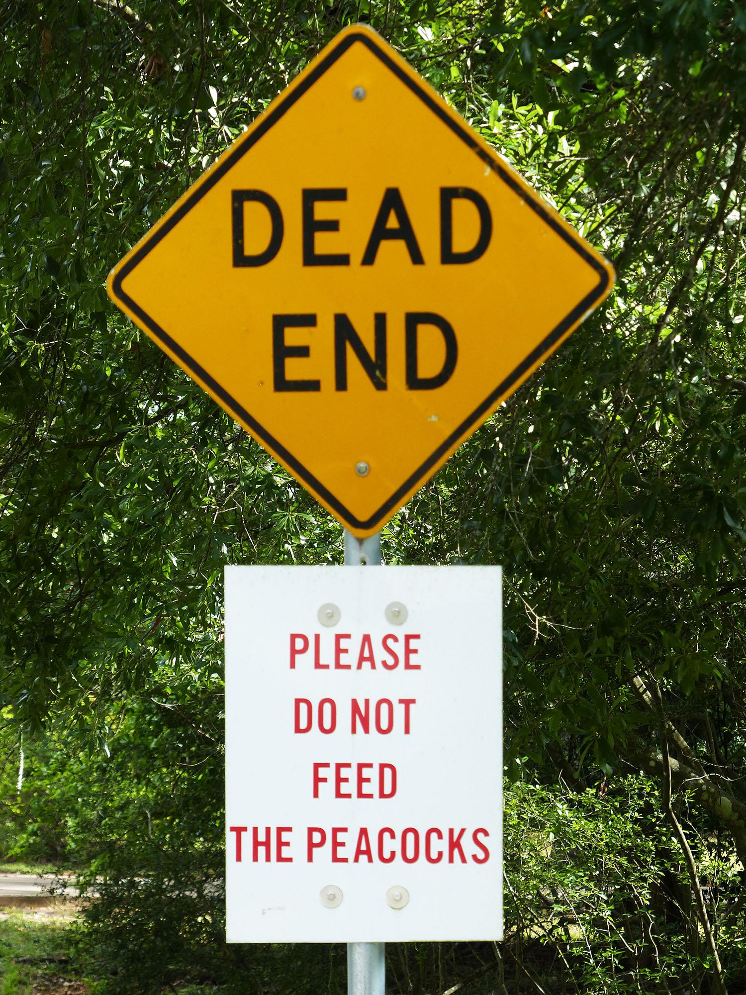Sign on West Houston street