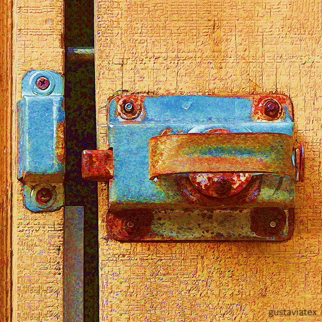 Rust and galvanized