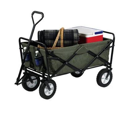 Cool collapsible wagon.
