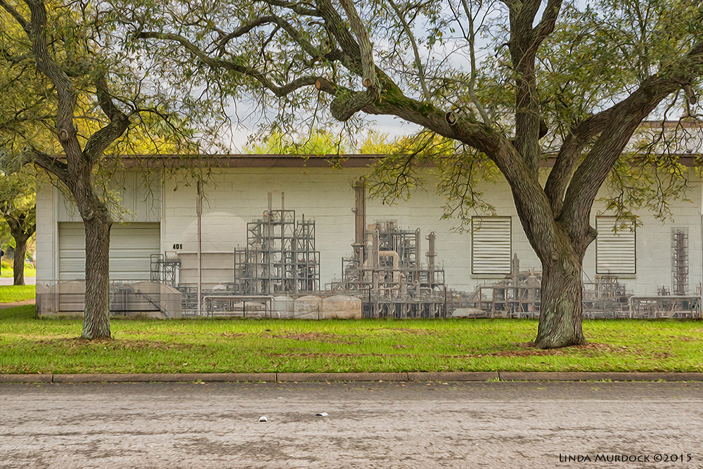 Texas City refinery virtual mural