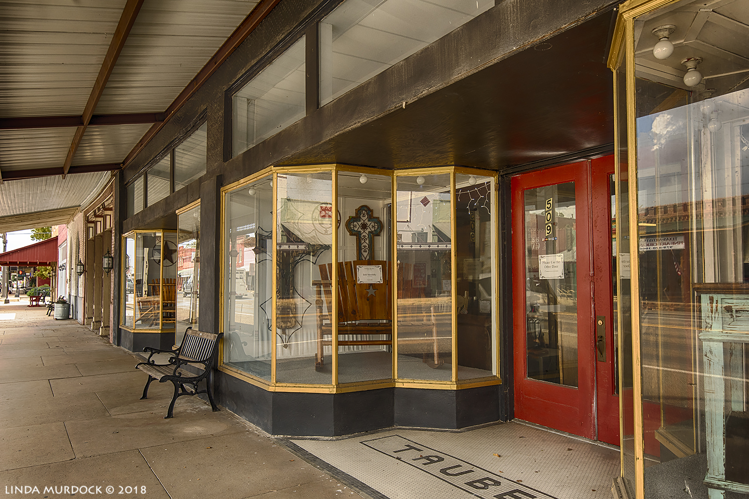What used to be a fine downtown store in Calvert, Texas  Nikon D810 with Tamron 15-30 f/2.8 ~ ISO 400 f/6.3 at 27mm HDR; hand-held