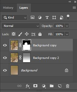Layer panel for fancy gradient work