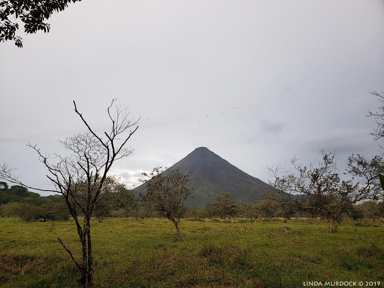 Arenal volcano established 1968
