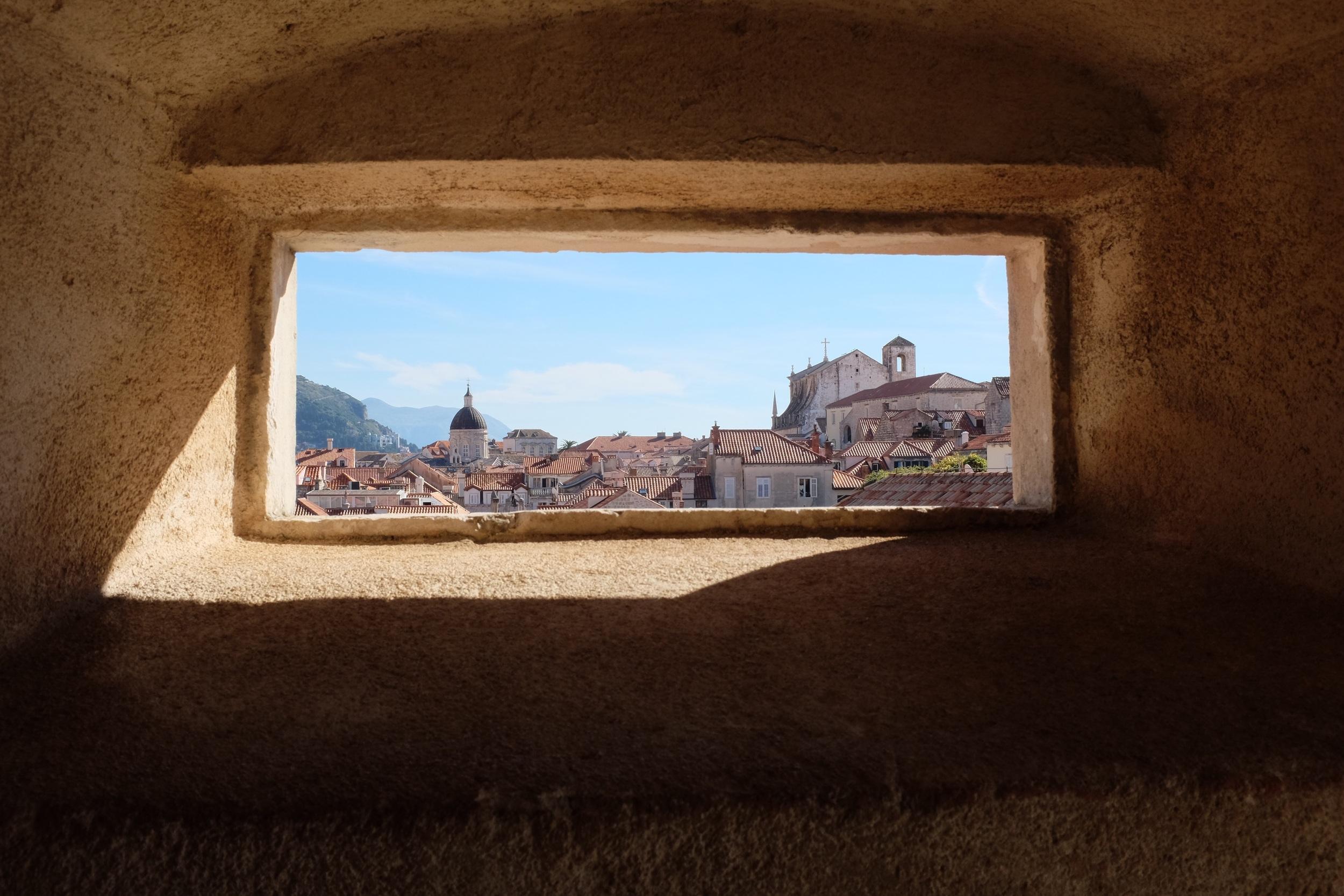 Hidden views in Dubrovnik