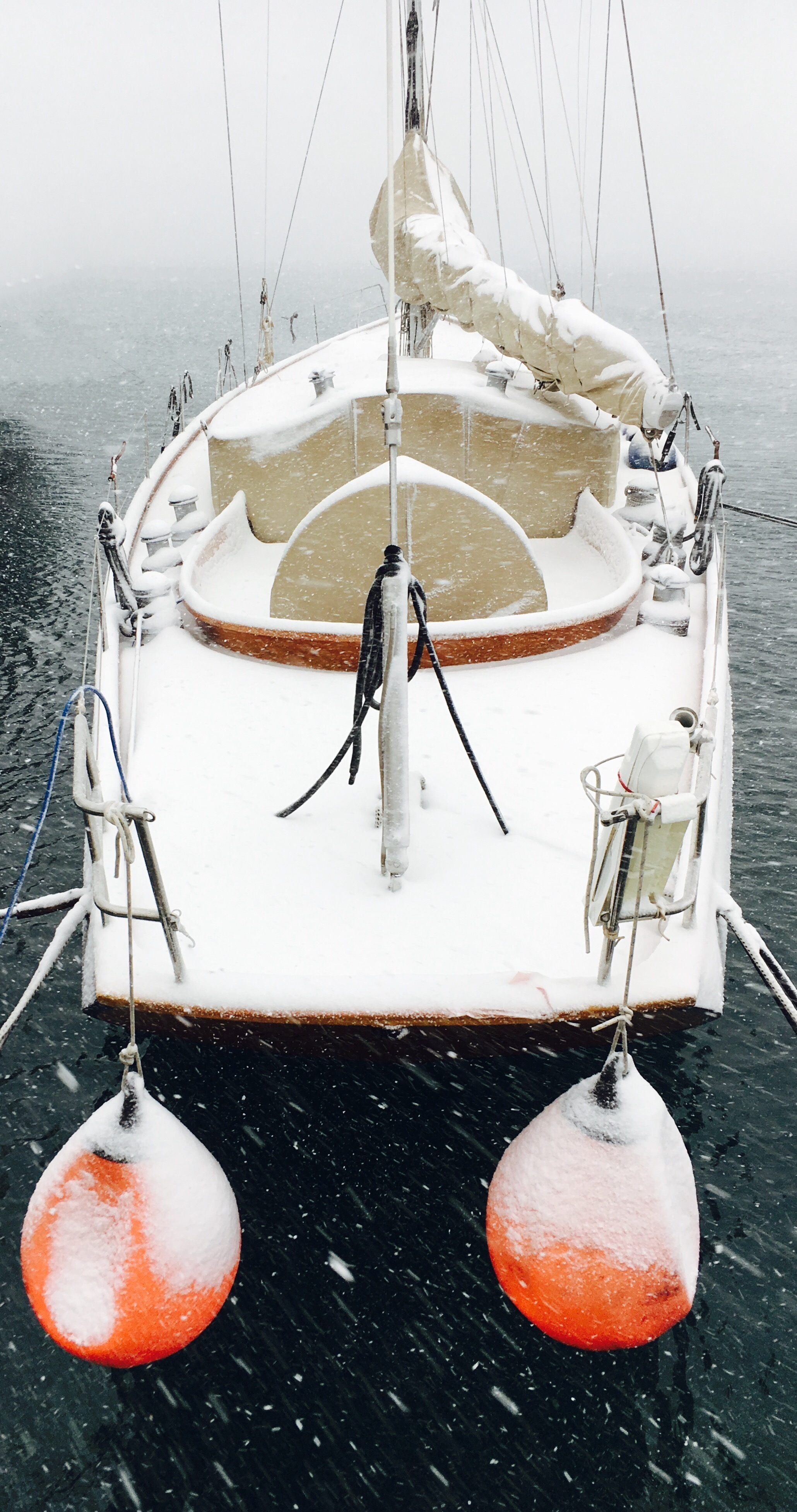 Winter edition of a wonderful  Spirit  yacht.