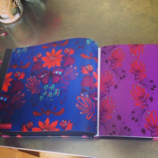 Blurb Book for Surtex 2014