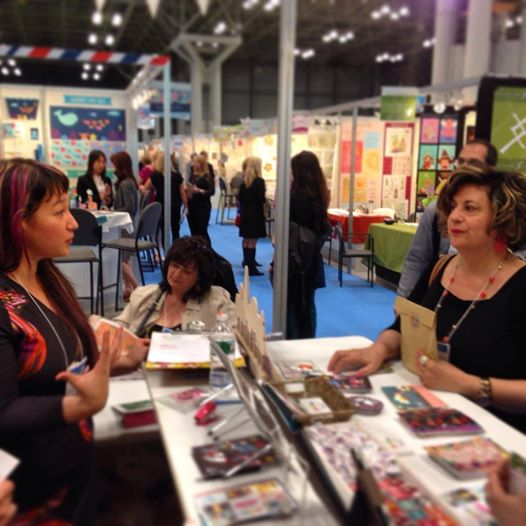 Me talking to Lilla Rogers, Super Star Agent!! I love her.