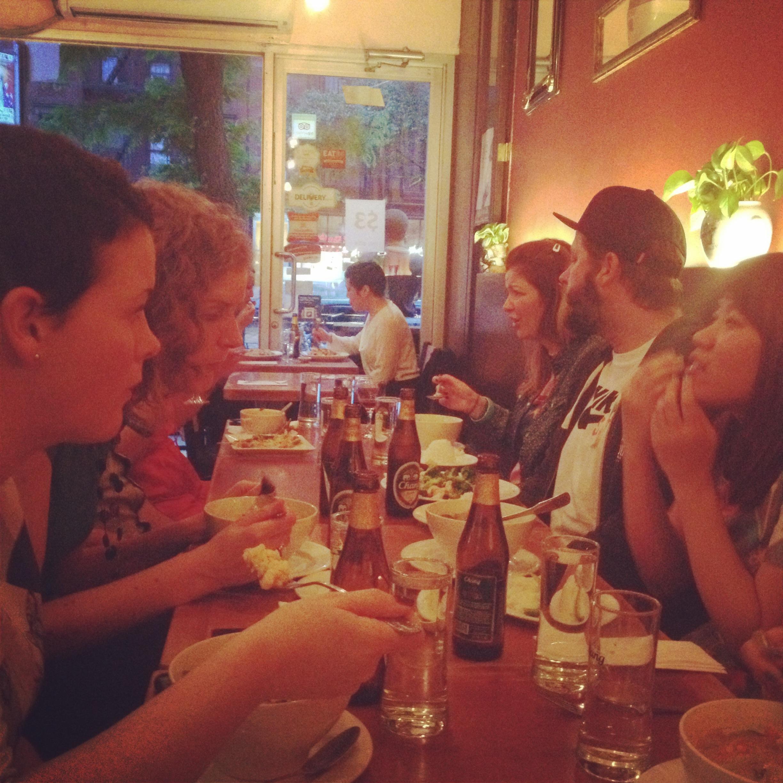 Last night! Thai Dinner!!