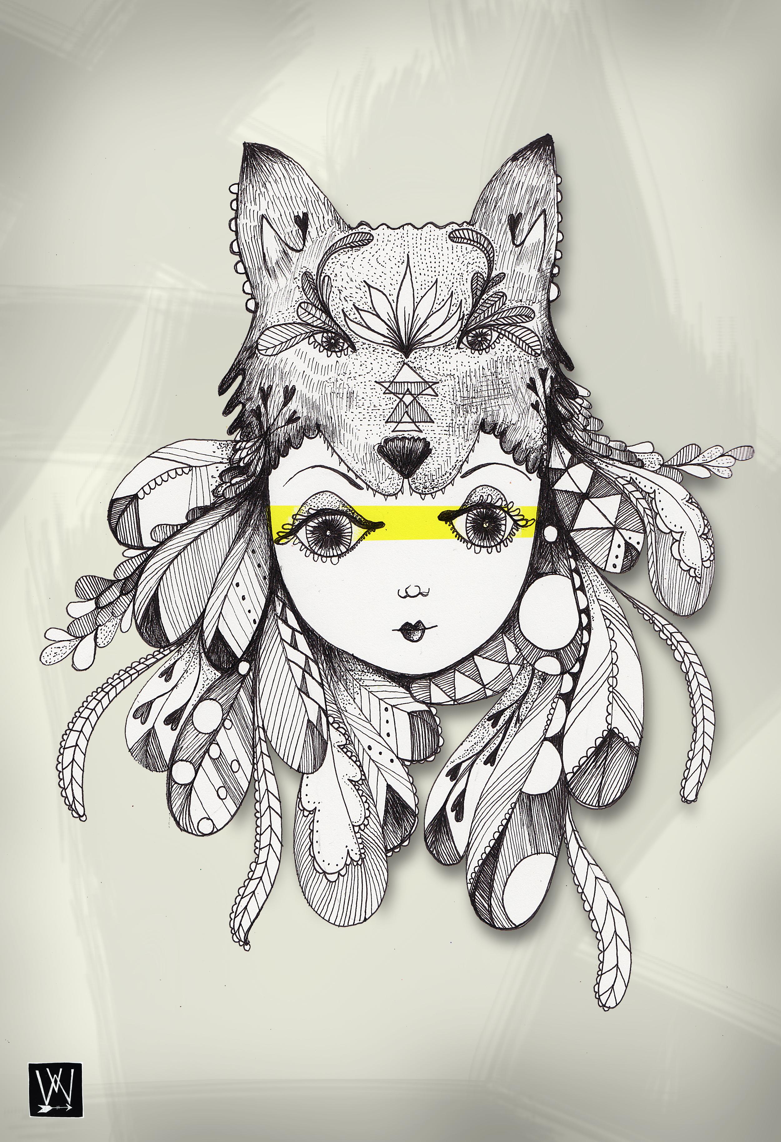 New Art Uploaded to Society6:http://society6.com/rainyowl/be-a-warrior-cjk#1=45