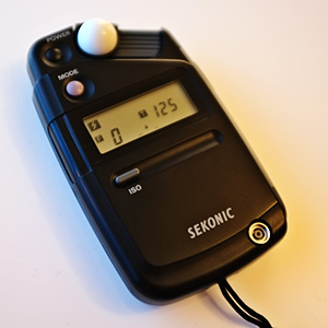 Basic light meter, more of a learning and development tool than a modern necessity.