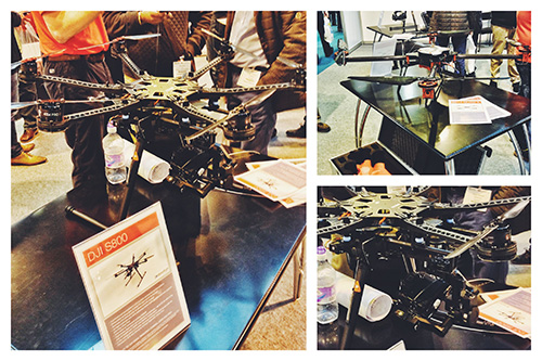 The ever increasing popularity of the UAVs was apparent with a substantial stand from Droneflight Limited.