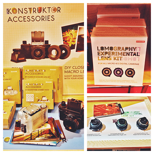 Build your own camera or just buy a plastic lens for your current one, Lomo has your Lo-Fi needs covered.