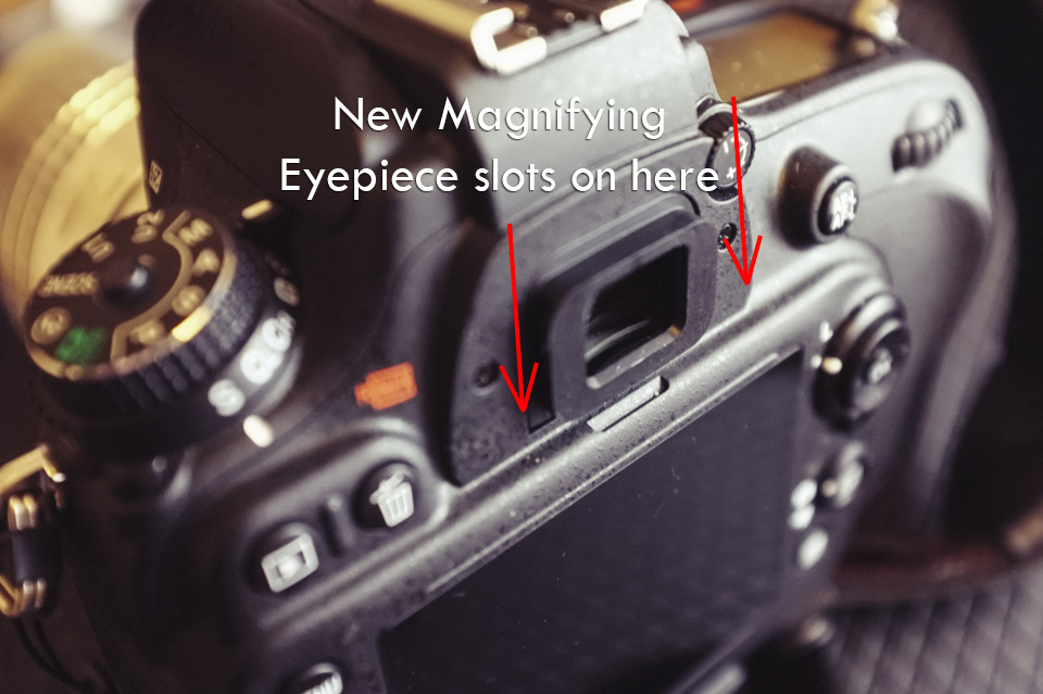 A magnifying eyepiece may be the cheapest option but not necessarily the best option.