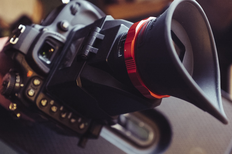DSLR Video Loupe:I'd love to tell you that I spent hours deliberating over which video loupe to purchase, but alas it simply came to the fact that this one had red bits on it.
