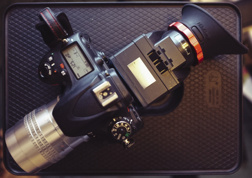 Of course adding a video loupe to your system will increase the bulk/size/weight a little!